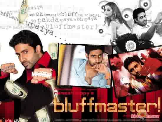 Poster of Bluffmaster (2005) - (Hindi Film)